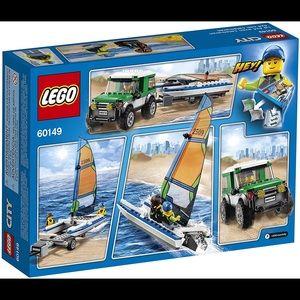 🚤 Lego City 60149 4x4 with catamaran